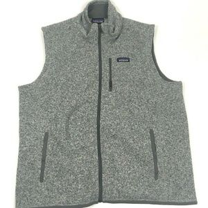 Patagonia Mens Better Sweater Vest Stonewash Grey